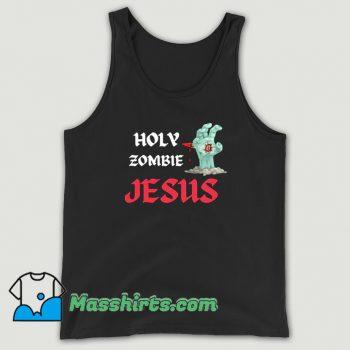 Best Holy Zombie Jesus Tank Top