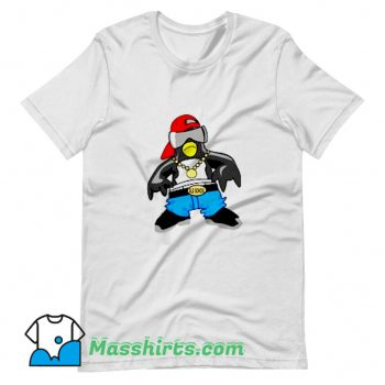Best Penguin Hip Hop Rapper T Shirt Design