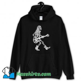 Best Seembo Skeleton Playing Guitar Hoodie Streetwear