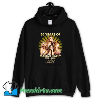 Cheap 30 Years Of Mariah Carey 1990 2020 Hoodie Streetwear