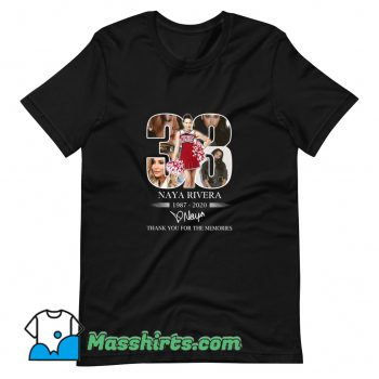 Cheap 33 Naya Rivera Thank You For The Memories T Shirt Design