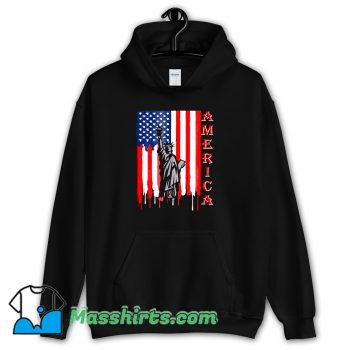 Cheap Fourth Of July Statue Of Liberty Hoodie Streetwear