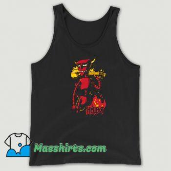 Cheap Futurama Robot Devil Hellboy Hellbot Tank Top