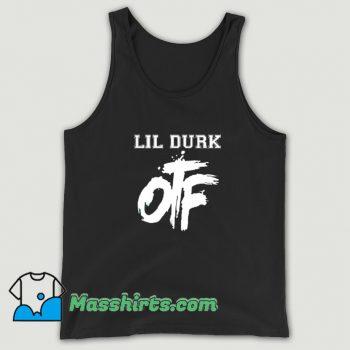 Cheap Lil Durk Otf Rapper Tank Top
