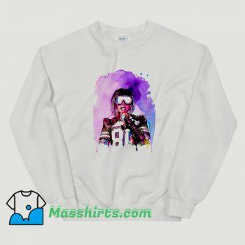 Cheap Missy Elliott Colorful Art Sweatshirt