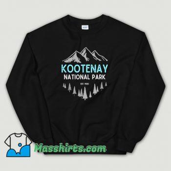 Cheap Mountains Kootenay National Park Sweatshirt