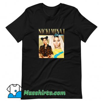 Cheap Nicki Minaj American Singer T Shirt Design