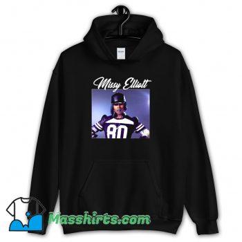 Cheap Rapper Missy Elliott Retro 90s Hoodie Streetwear