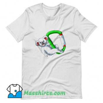 Chilled Koala Climber Bouldering T Shirt Design