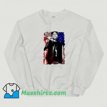 Classic Asap Rocky American Flag Sweatshirt