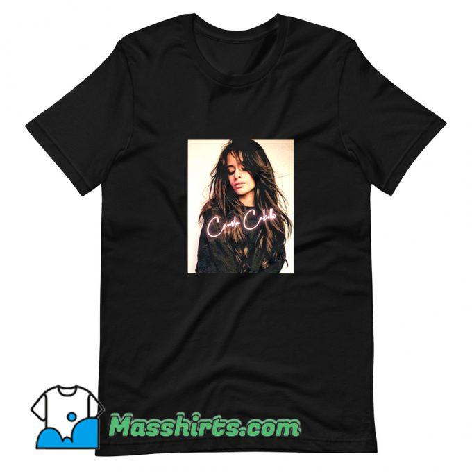 Classic Camila Cabello Music Hip Hop T Shirt Design