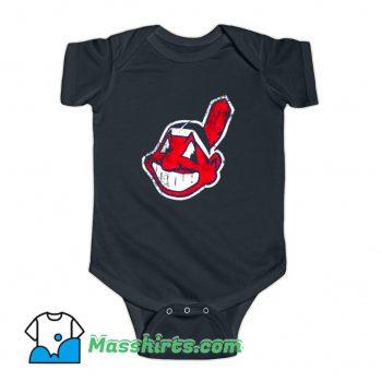 Cleveland Indians Mascot Chief Wahoo Baby Onesie