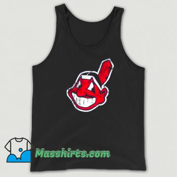 Cleveland Indians Mascot Chief Wahoo Tank Top On Sale