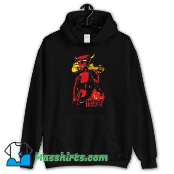 Cool Futurama Robot Devil Hellboy Hellbot Hoodie Streetwear