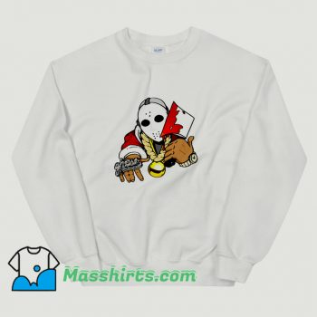Cool Jason Voorhees Parody Rapper Hip Hop Sweatshirt
