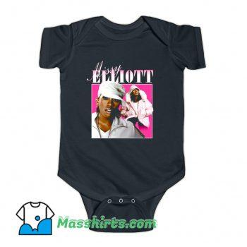 Cool Missy Elliott Music Hip Hop Baby Onesie