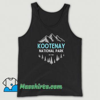Cool Mountains Kootenay National Park Tank Top