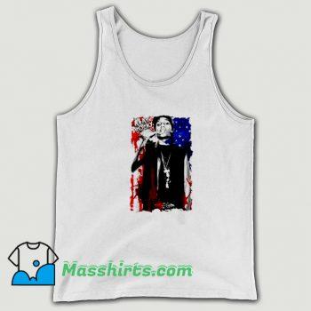 Cute Asap Rocky American Flag Tank Top
