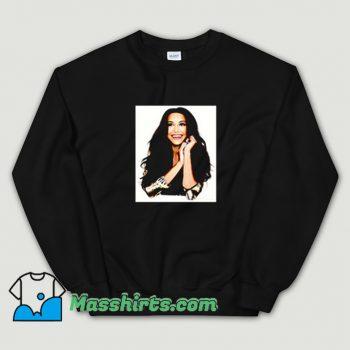 Cute Naya Rivera Photoshoot Art Sweatshirt