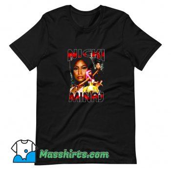 Cute Nicki Minaj 90s Rap T Shirt Design