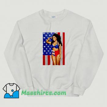 Cute Nicki Minaj Sexy Photos American USA Sweatshirt