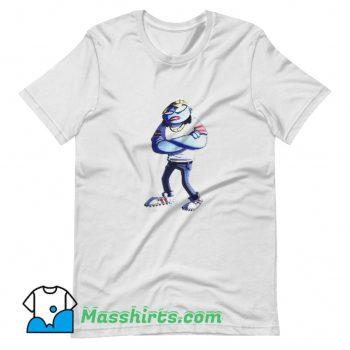 Cute Rapper Gorillaz Art T Shirt Design