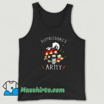 Dumbledores Army Cartoon Tank Top On Sale