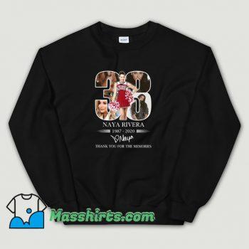 Funny 33 Naya Rivera Thank You For The Memories Sweatshirt