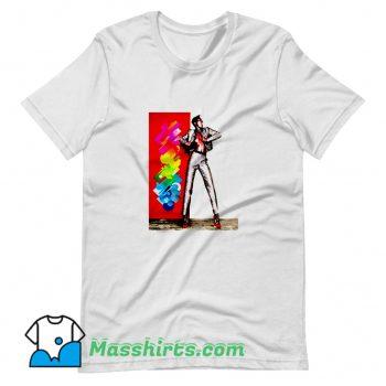 Funny Grace Jones Dance T Shirt Design