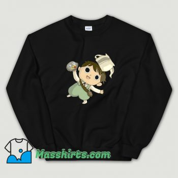 Funny Greg Rock Fact Over The Garden Wall Sweatshirt