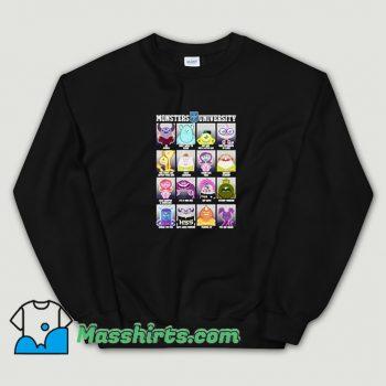 Funny Pixar Monsters University Class Photos Sweatshirt