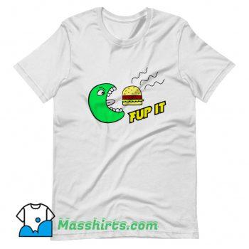Fup It Cheeseburger Monster T Shirt Design