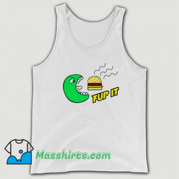 Fup It Cheeseburger Monster Tank Top