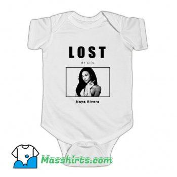 Lost My Girl Naya Rivera Baby Onesie