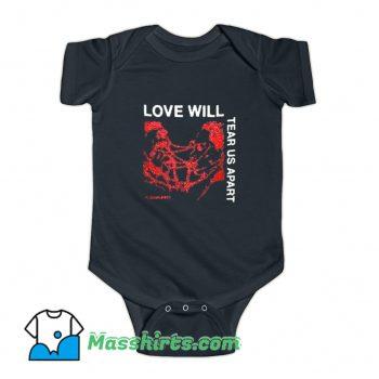 Love Will Tear Us Apart Baby Onesie