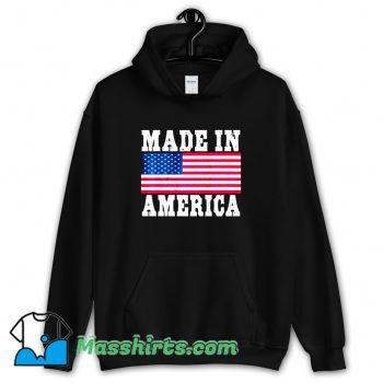 Made In America USA Flag Hoodie Streetwear