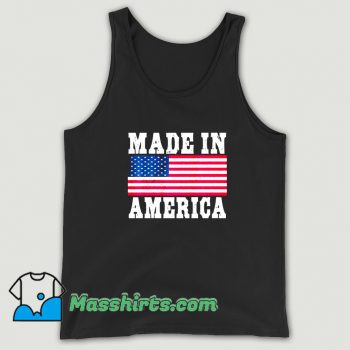 Made In America USA Flag Tank Top