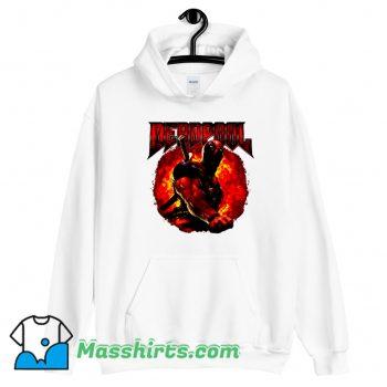 Marvel Deadpool Epic Heavy Metal Hoodie Streetwear