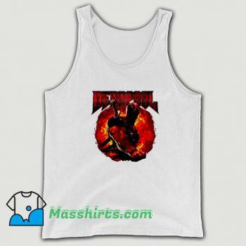 Marvel Deadpool Epic Heavy Metal Tank Top On Sale