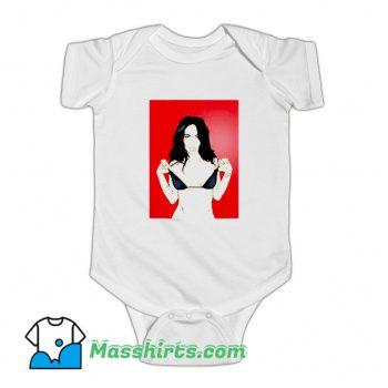 Megan Fox Ninja Turtles Baby Onesie