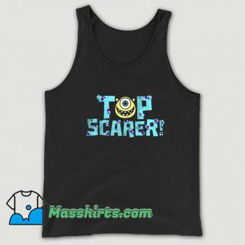 Mike Wazowski Top Scarer Funny Tank Top