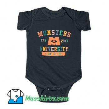 Monsters University Graduation Student Baby Onesie