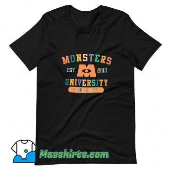 Monsters University Graduation Student T Shirt Design