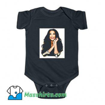 Naya Rivera Photoshoot Art Baby Onesie