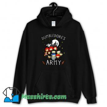 New Dumbledores Army Cartoon Hoodie Streetwear