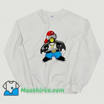 New Penguin Hip Hop Rapper Sweatshirt