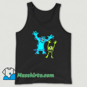 New Sulley And Mike Monsters University Tank Top