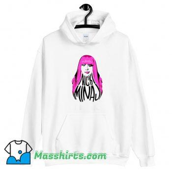 Nicki Minaj Pink Hair Hoodie Streetwear