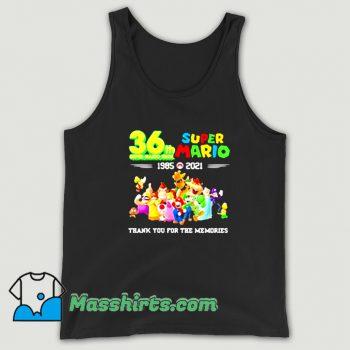 Original 36 Th Super Mario Bros 1985 2021 Tank Top