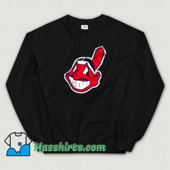 Original Cleveland Indians Mascot Chief Wahoo Sweatshirt
